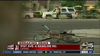 PD: Bicyclist killed in west Phoenix crash
