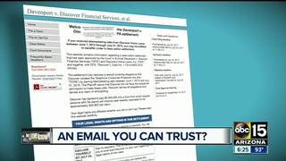 Email from an unknown sender? Do your research