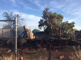MCSO: 2 structures destroyed in Wittmann fire