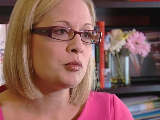 Rep. Kyrsten Sinema hopes to become Senate's second LGBTQ member