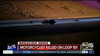 NB Loop 101 reopens after deadly crash in Tempe