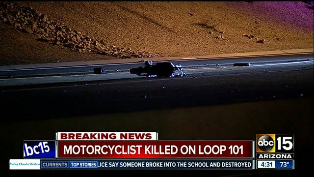 NB Loop 101 temporarily shut down in Tempe after deadly crash