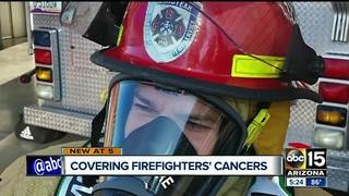 Firefighters push for expanded health benefits