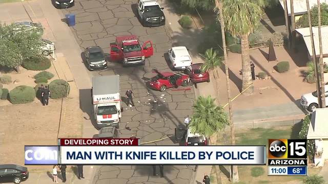 Arizona police officer stabbed, suspect dead after cop-involved shooting