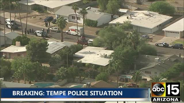 Officer injured, suspect dead after shooting in Tempe