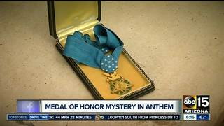 Found Medal of Honor vexes Anthem veteran