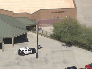Peoria schools were on lockdown after robbery