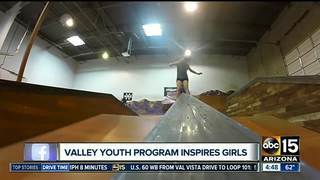 Valley youth program teaches girls to skateboard