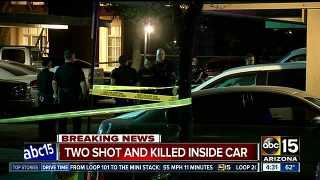 Tempe police: 2 found shot dead in auto at apartment complex