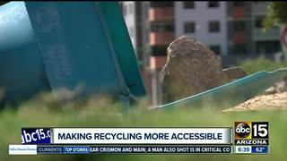 Phoenix working to increase recycling options