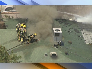 PHOTOS: Stubborn house fire in Tempe