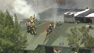 Stubborn house fire in Tempe