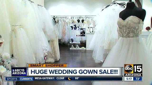 Save thousands of dollars on wedding dresses!