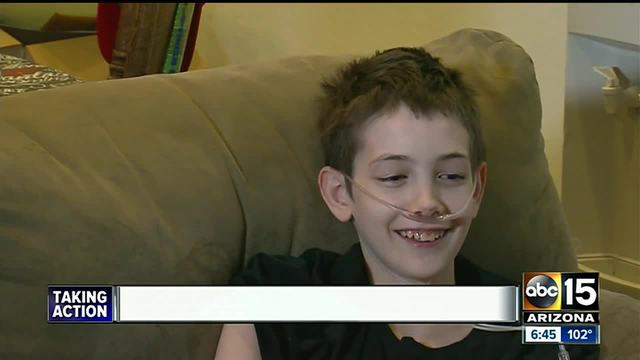 Valley boy with terminal disease has special wish for his birthday