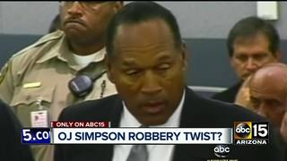 PHX man claims twist in O.J. Simpson robbery