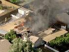 Crews fight fire spreading in Mesa neighborhood