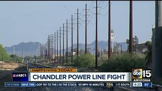 Chandler residents fight more SRP power lines
