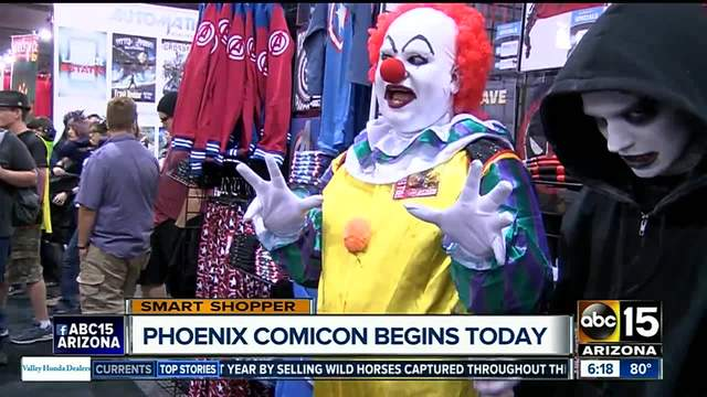 Armed man arrested at Phoenix Comicon