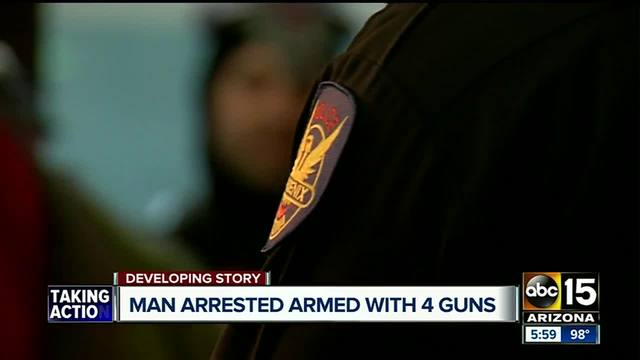 Armed man targeting Phoenix police at Comicon