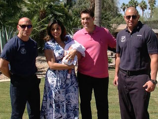 Baby born in back of car at Phoenician resort