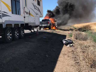 I-17 reopens after car fire near Sunset Point