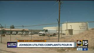 Johnson Utilities owner steps down from post