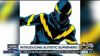 Introducing an autistic superhero at Comicon