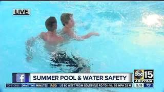 Staying safe in the water as pools open up