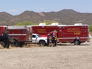 FD: Black Canyon City brush fire fully contained