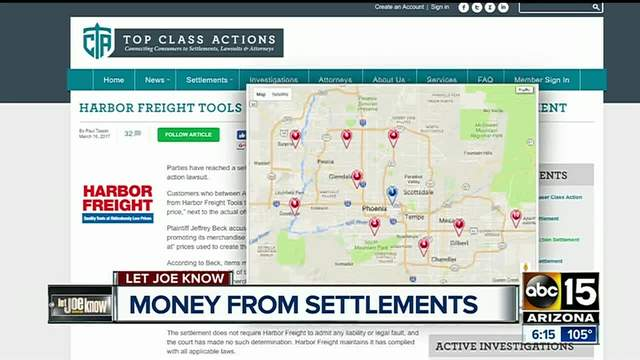 Easy money? Settlements mean refunds! - ABC15 Arizona