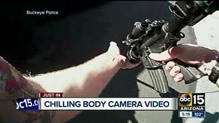 VIDEO: Gunfight between Buckeye PD, suspect