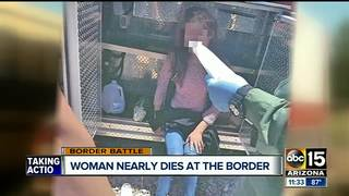 Woman survives after being trapped for 40 hours