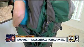 Arizona woman teaches how to make bug-out bags