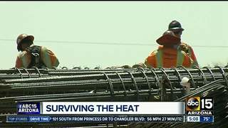 ADOT making extra effort to keep workers cool