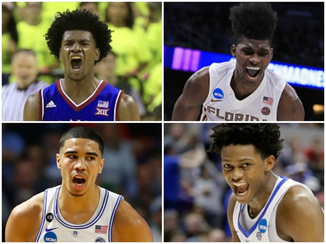 Kansas' Josh Jackson, Duke's Jayson Tatum headline forwards in NBA draft