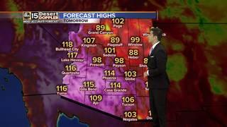 FORECAST: Excessive Heat Warning Monday