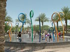 How do Valley cities keep splash pads clean?