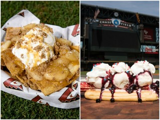 D-backs reveal new food options for July 1 game