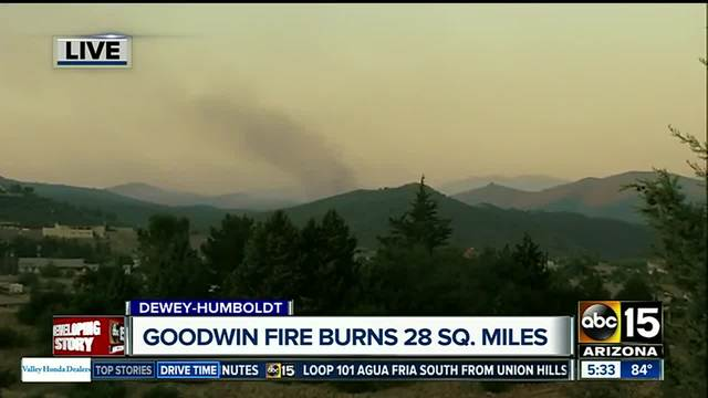 Brian Head Fire continues to spread to the east