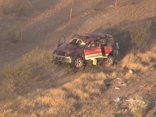 DPS: 2 dead, 4 hurt after rollover on SR-87