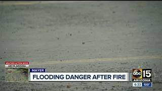 Flooding a concern in Goodwin Fire burn area
