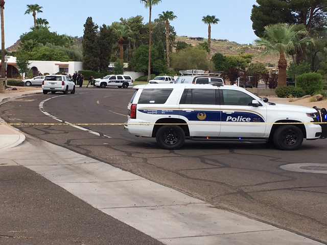 PHX PD involved in shooting, suspect sought
