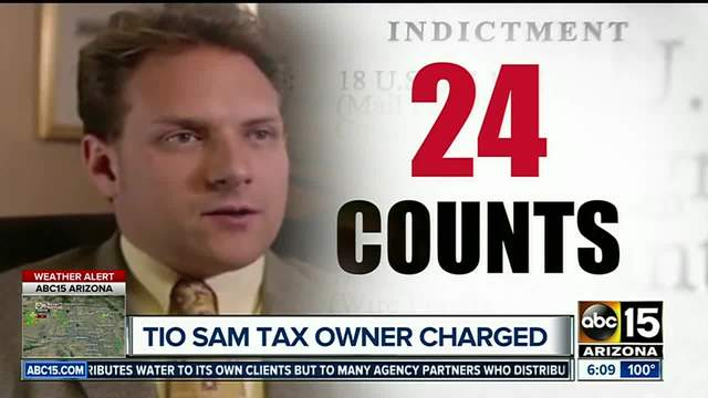 Former Tio Sam Taxes owner indicted
