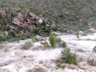 17 trapped in flash flood at Tanque Verde Falls