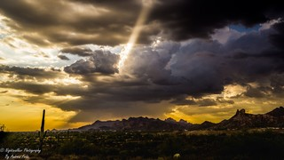 Monday morning storm in Valley