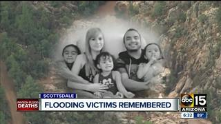 Payson flood victims' funeral in Scottsdale