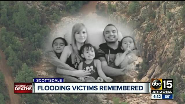 Payson flash flooding victims remembered at church