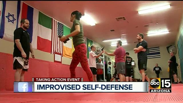 Defending yourself using zero weapons- relying on body