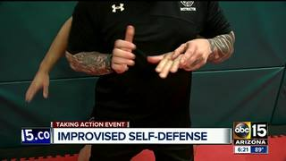 VIDEO: How to defend yourself using no weapons