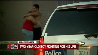 FD: 2-year-old boy found in west Phoenix pool